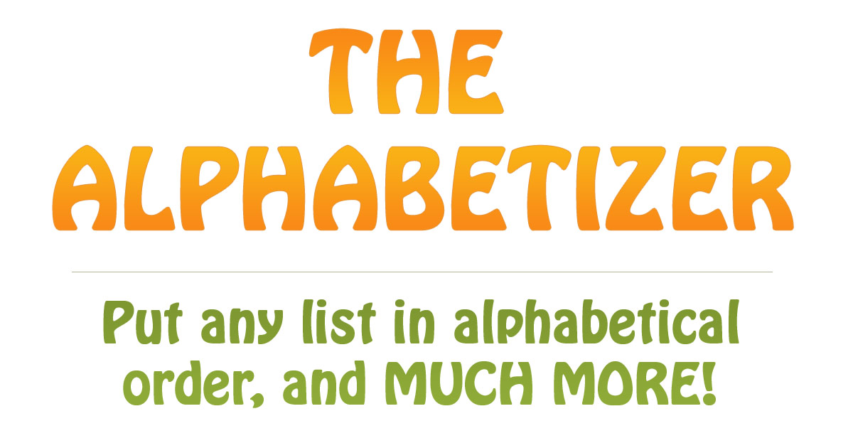 alphabetizer.flap.tv